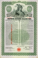 German External Loan 1924 (Deutsche �ussere Anleihe 1924)