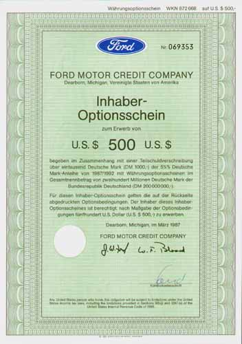 Ford motor credit company dearborn michigan for Ford motor company credit